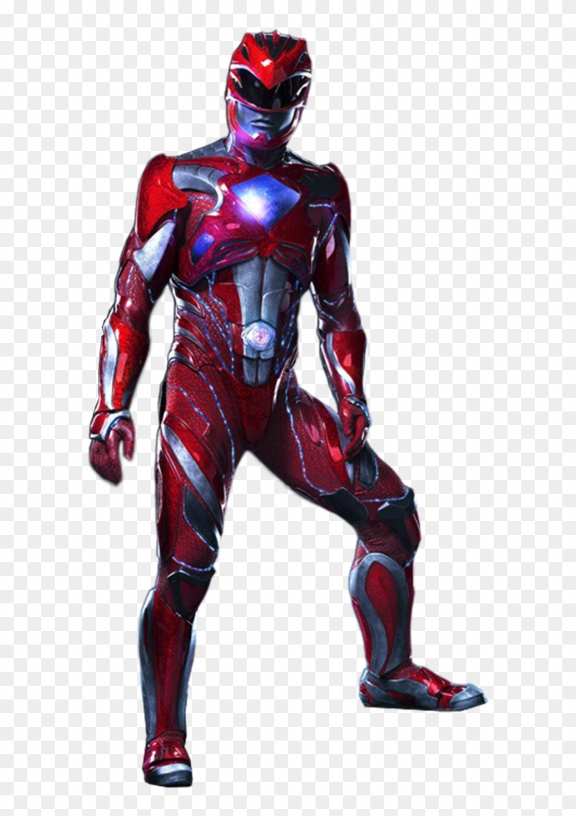 Png Power Rangers Movie Red Power Ranger 2017 Movie Clipart 1134614 Pikpng