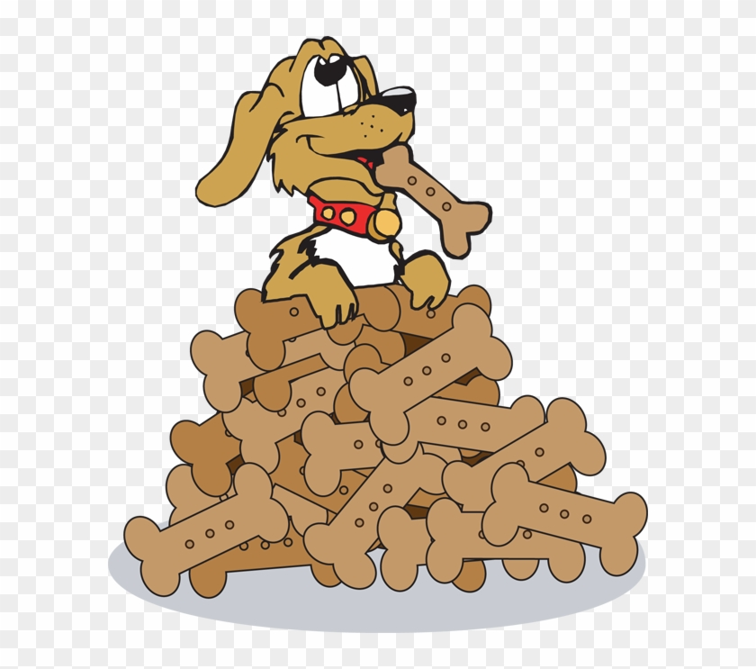 Clip Art Of Dogs Png Image Clipart Cartoon Dog Eating A Treat Transparent Png 1135099 Pikpng
