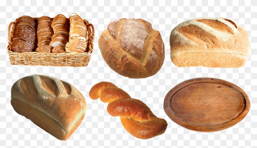 Framed Art For Your Wall Muffin Baguette Loaf Bread - Bread Clipart #1144109