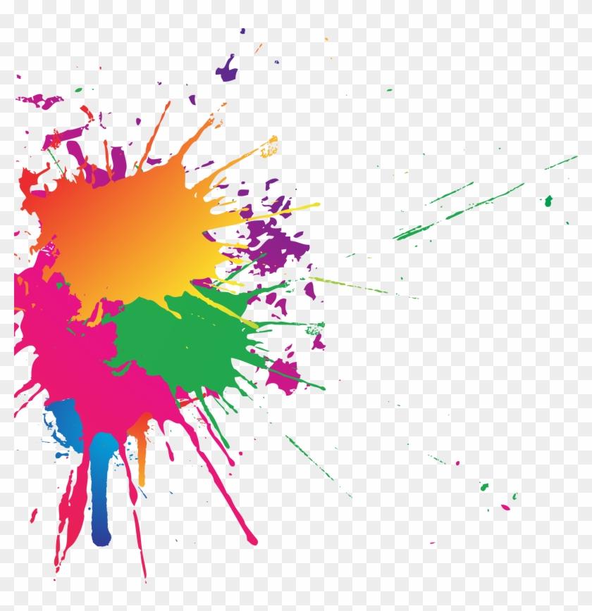 Transparent Color Splash - Splash Of Color Gif Transparent Clipart #1152038