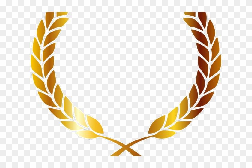 Golden Clipart Laurel Wreath - Golden Laurel Wreath Png Transparent Png@pikpng.com