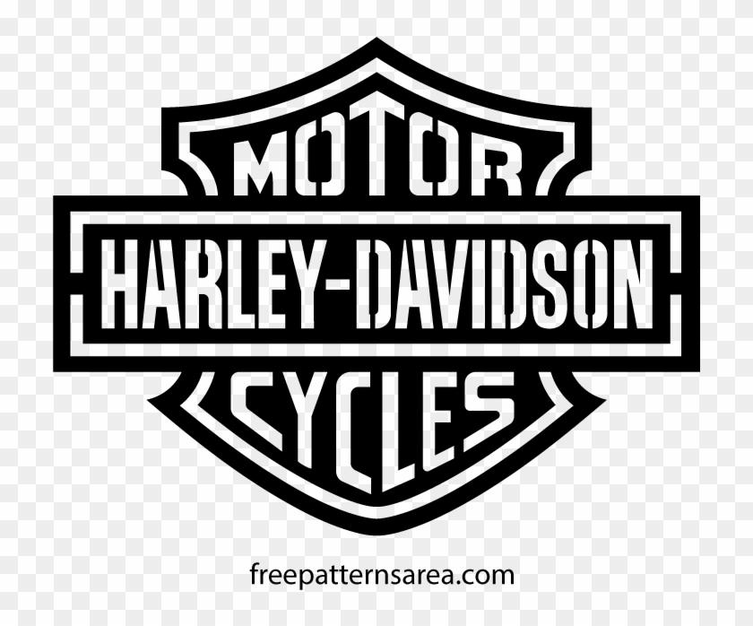 Logo Vector Vectors Pinterest Paint Wall Stencils - Harley Davidson Pumpkin Stencil Clipart #1157110
