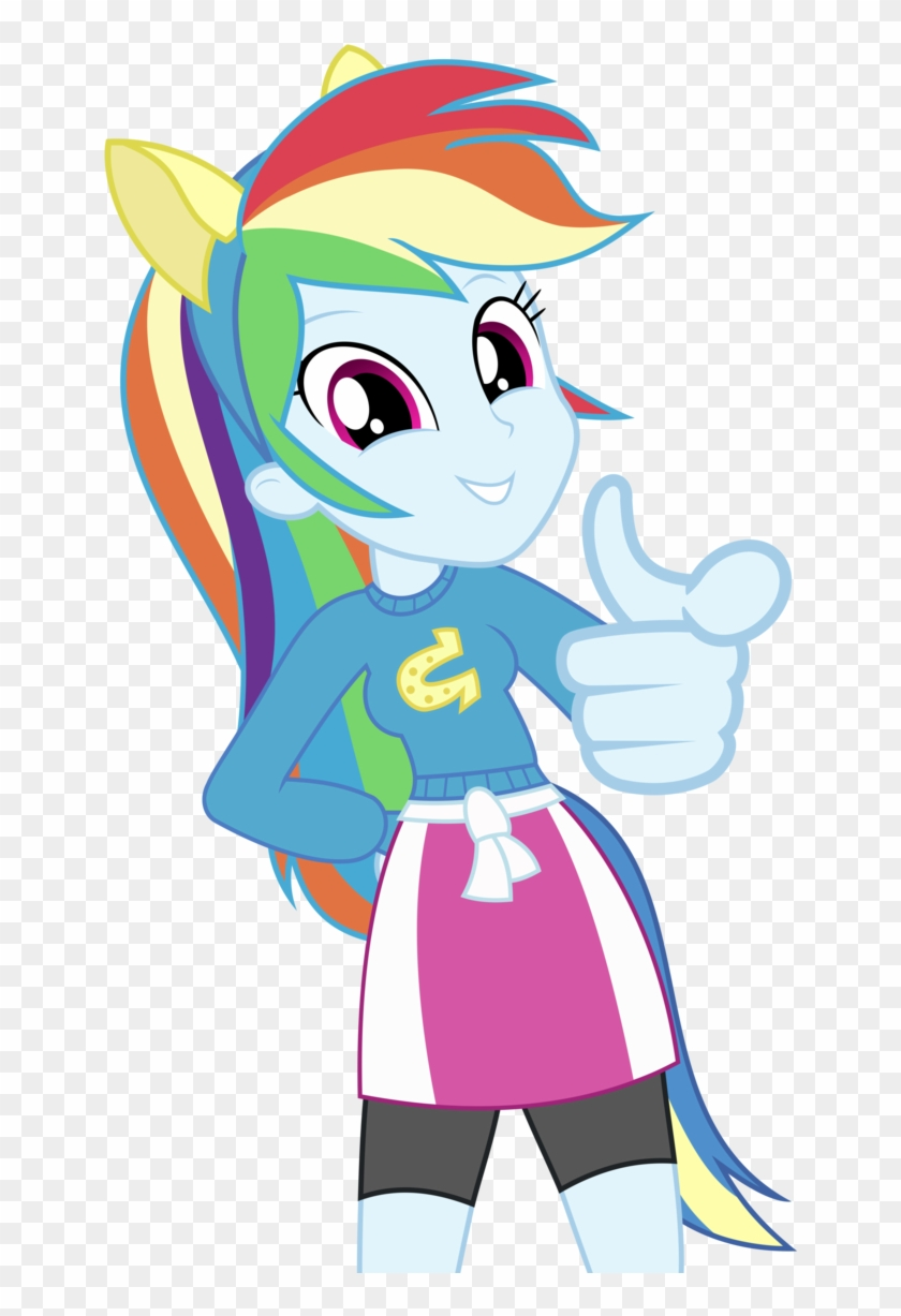 - Rainbow Dash Pointing At You Vector By Greenmachine987 - My Little