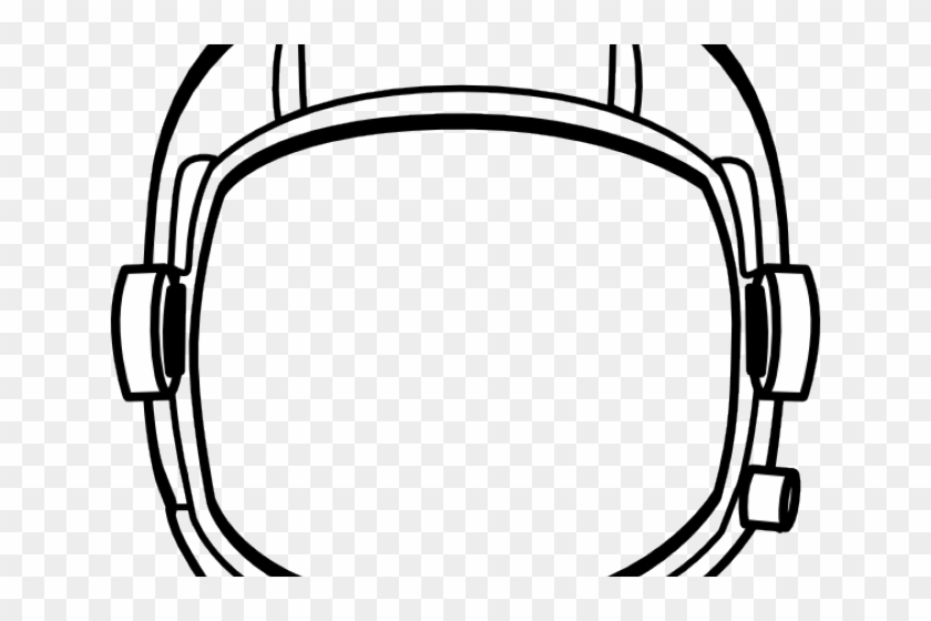 Drawn Helmet Astronaut Helmet - Astronaut Helmet No Background Clipart #1159745