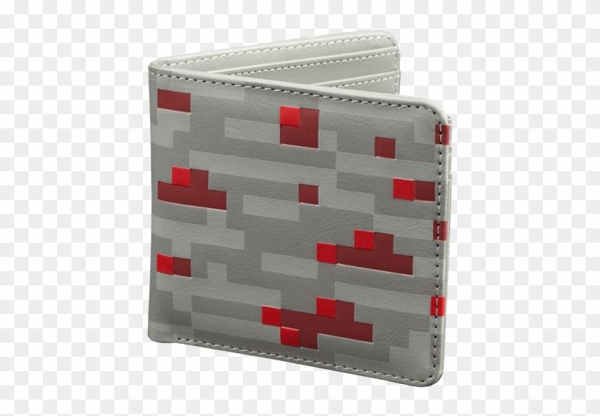 Redstone Block Bi-fold Wallet - Wallet Clipart #1160002