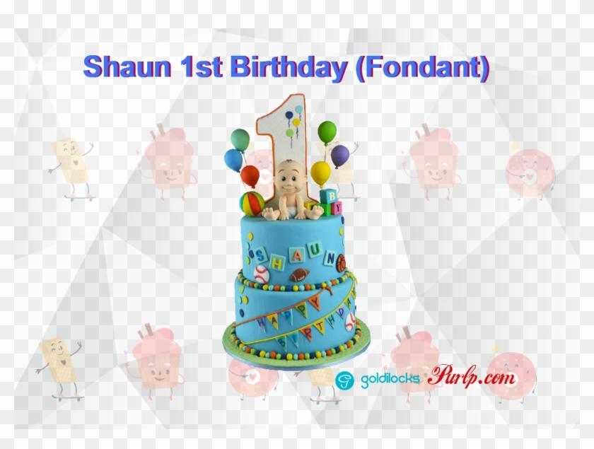Enjoyable Goldilocks Shaun 1St Birthday Fondant First Birthday Theme Cakes Funny Birthday Cards Online Alyptdamsfinfo