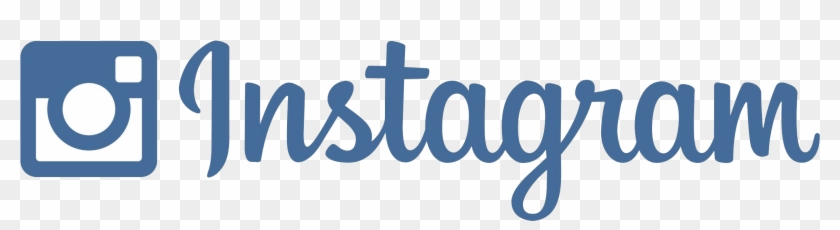 Follow Us On Social Media - Instagram Logo Font Vector Clipart #1162446