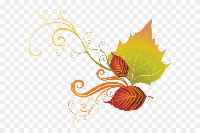 Autumn Leaves Clipart Corner Border - Transparent Background Free Thanksgiving Clip Art - Png Download #1166250