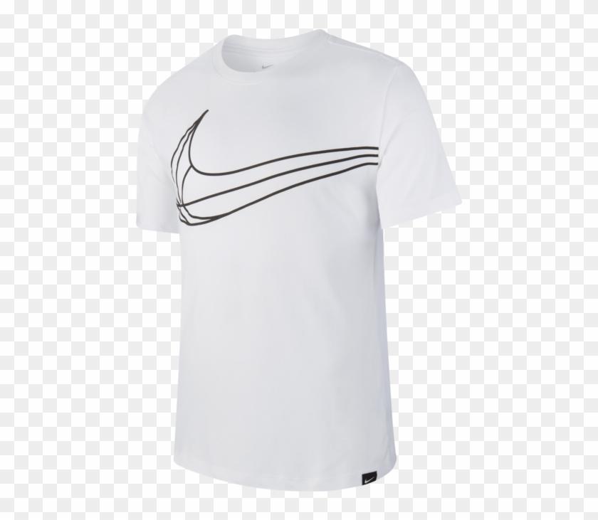 Nike Swoosh Ball Dry Tee - Kids Nike T-shirt Club 19 Clipart #1167315