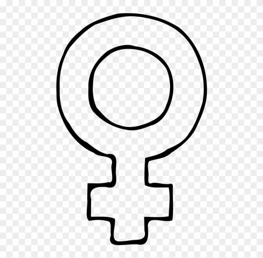 Female Gender Symbol Woman - Female Sign Clipart - Png Download #1168289