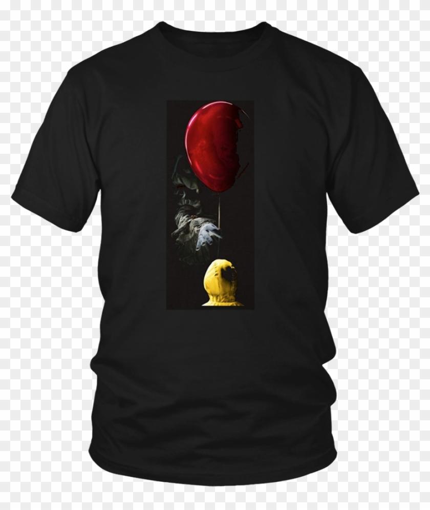 Scary Kid Fear Forgive Red Balloon Horror Halloween - T-shirt Clipart #1170904