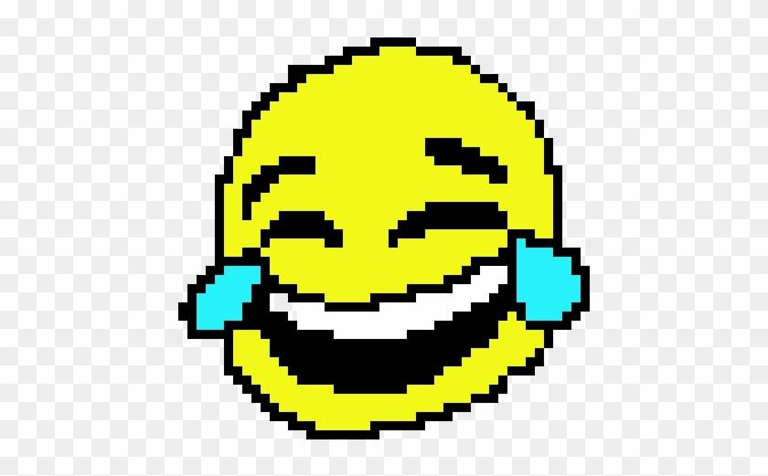 Crying Face Emoji Png - Laughing Crying Emoji Pixel Clipart #1175293