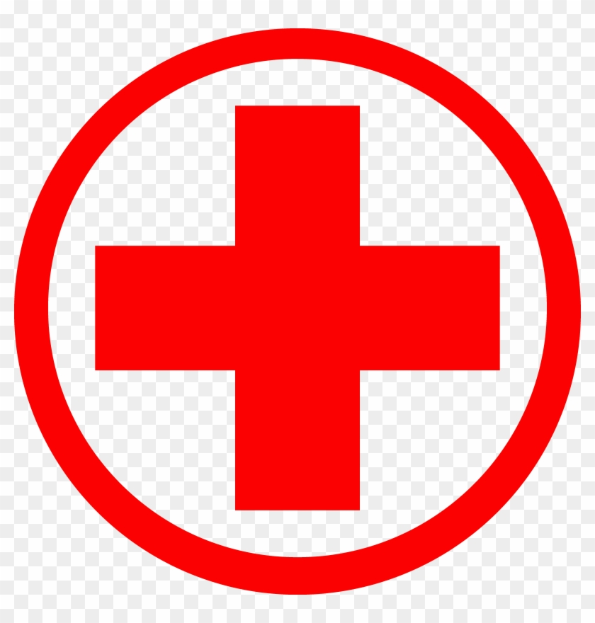 American Red Cross International Committee Of The Red - Cartoon Medical Symbol Clipart #1176001