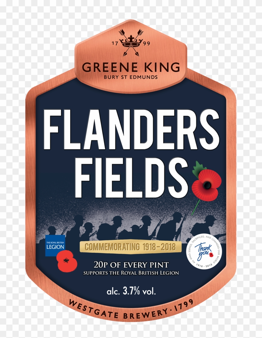 20p From Every Pint Sold Will Be Donated To The Royal - Greene King Clipart #1178427