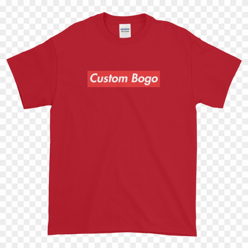 Custom Box Logo T-shirt - T-shirt Clipart #1179897