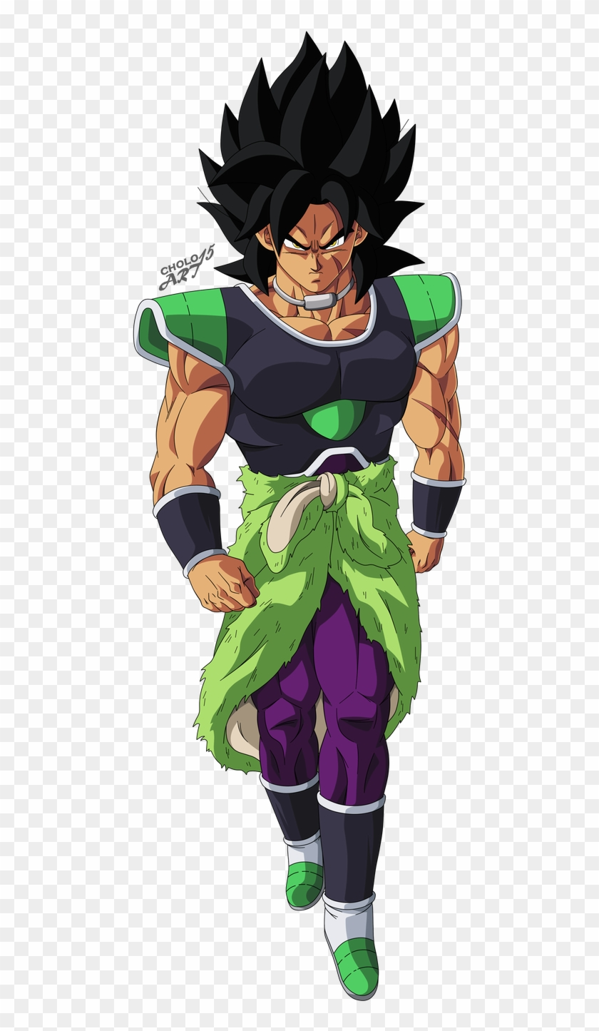 Broly By Cholo15art Dragon Ball Super Broly Poster Clipart