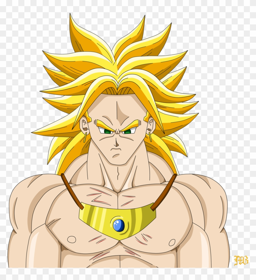 Some Broly Fan Art I Made, Hope You Guys Like It - Drawing Clipart #1180186