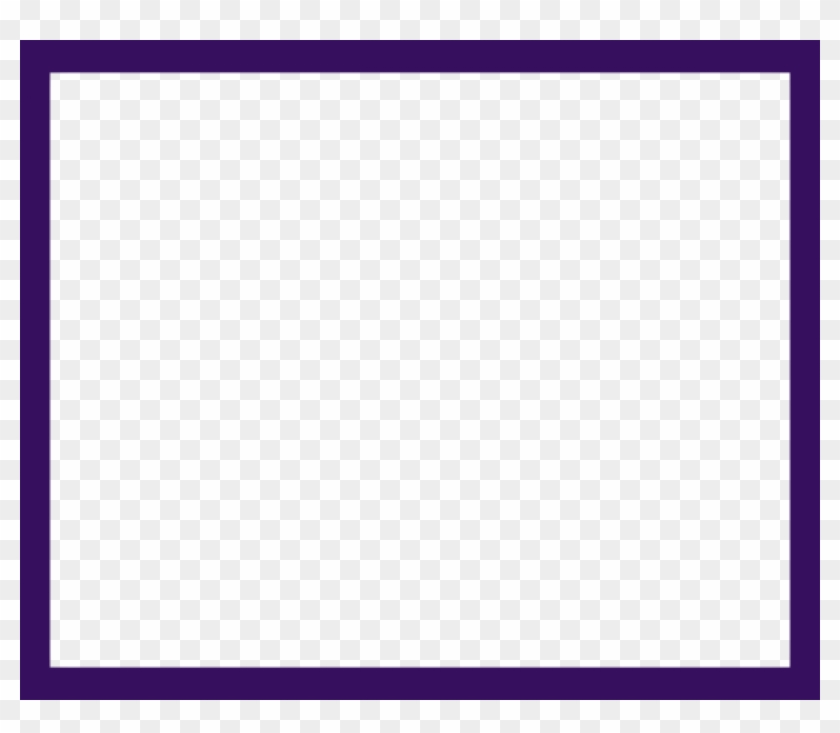Free Png Purple Border Frame Png - Colorfulness Clipart #1183589