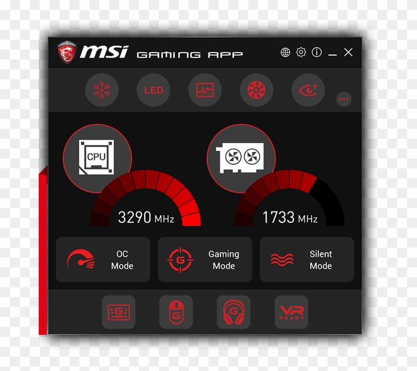Geforce Gtx 1070 Gaming X 8g - Msi Gaming App 1050 Ti Clipart #1183787
