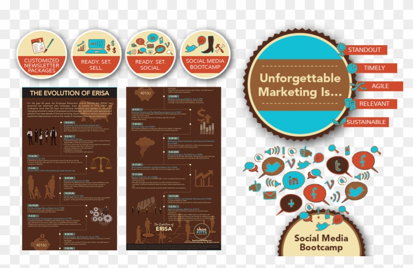 Hand-drawn Icons And Elements For Web Elements, Graphic - Graphic Design Marketing Examples Clipart #1185143