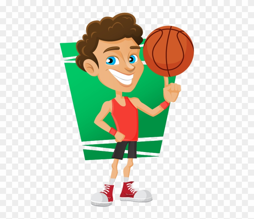 Png Black And White Stock Free Basketball Player Clipart Cartoon Transparent Png 1185806 Pikpng