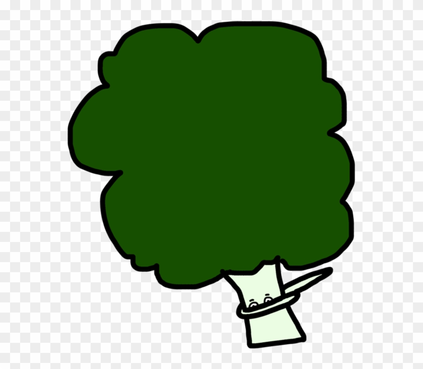 Broccoli Clipart Dark - Dabbing Broccoli - Png Download #1187500