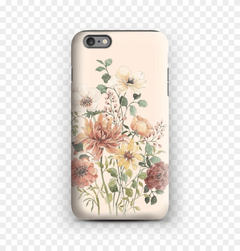 Spring Flowers Case Iphone 6s Plus Tough - Flower Clipart #1190928