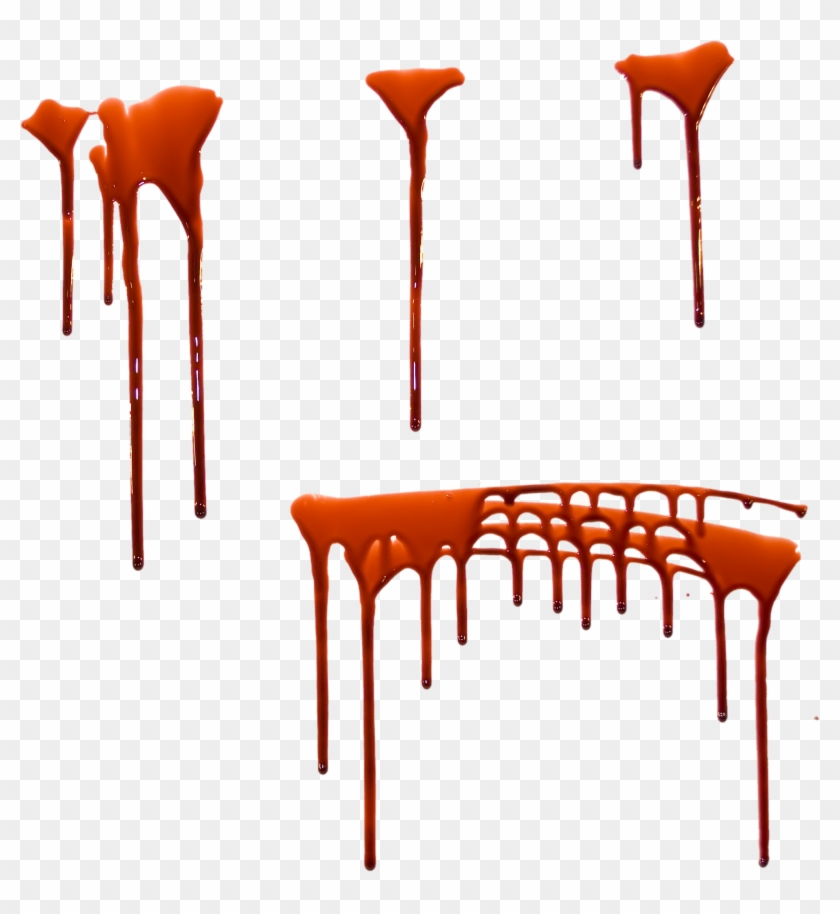 Blood Dripping Png - Transparent Blood Dripping Clip #1192932