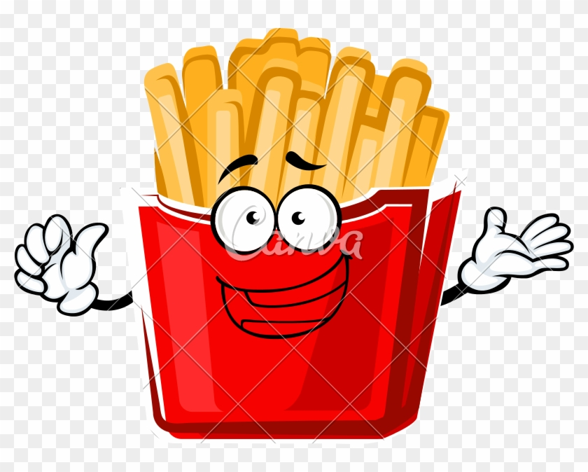 800 X 594 1 - French Fries Clipart #1193769