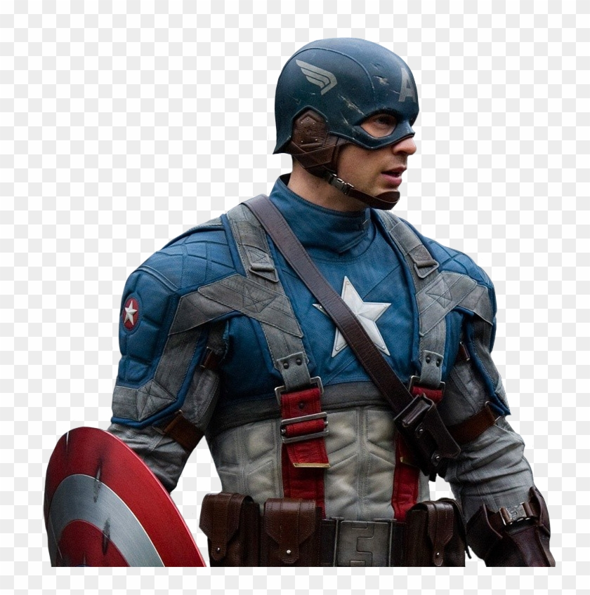 Captain America Png Transparent - Captain America Movie Png Clipart #1194279