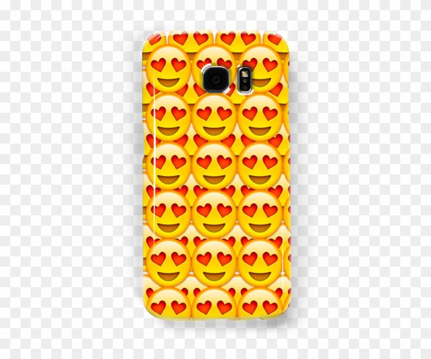 Heart Eyed Emoji - Mobile Phone Case Clipart #1197446