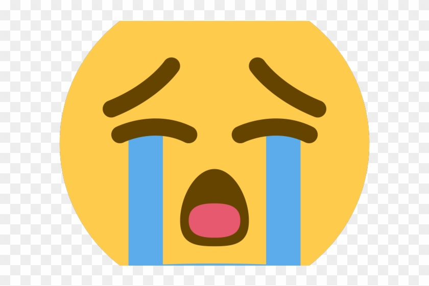 Crying Emoji Clipart Face Emoji - Sad Cry Emoji Transparent - Png Download #1198786