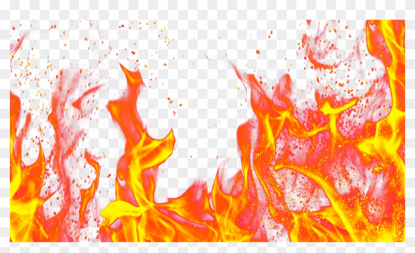 Fire Picture Effect - Flames Clipart - Png Download #120163