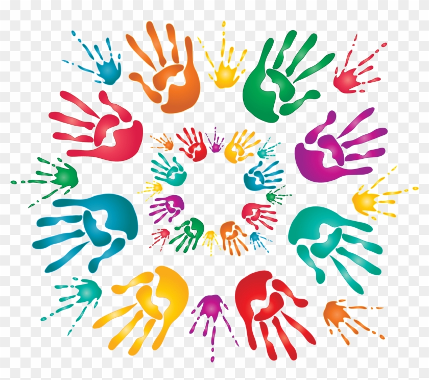 Hands Holi Png - Chart For Holi Festival Clipart #120389