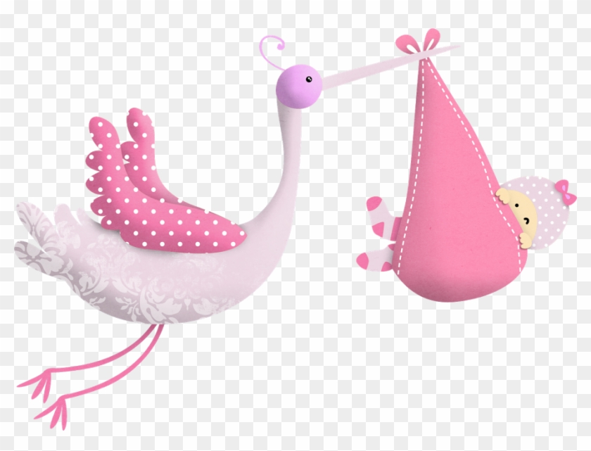 Baby Shower Nena Ilustraciones Ciguena Png Baby Shower Clipart 121338 Pikpng