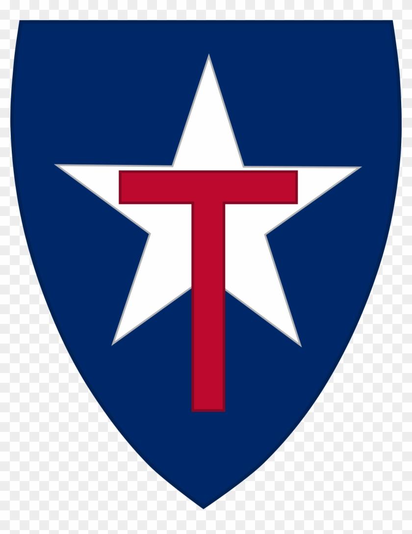 Open - Texas State Guard Insignia Clipart #122305