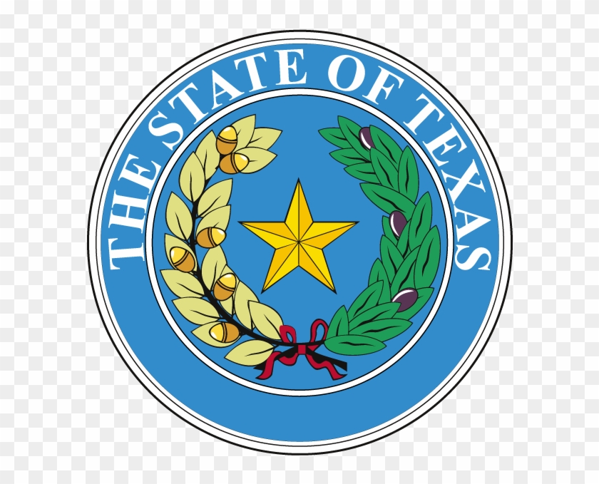 State Seal Of Texas - Texas State Motto Seal Clipart #122371