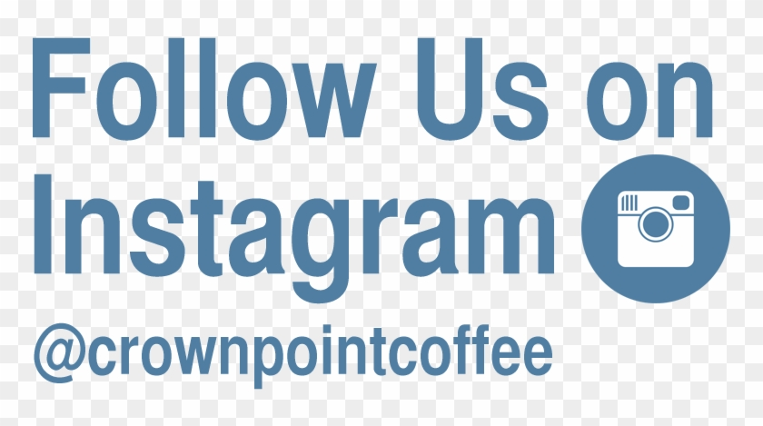 Follow Us On Instagram Png - Follow Us On Instagram Logo Blue Clipart #122699