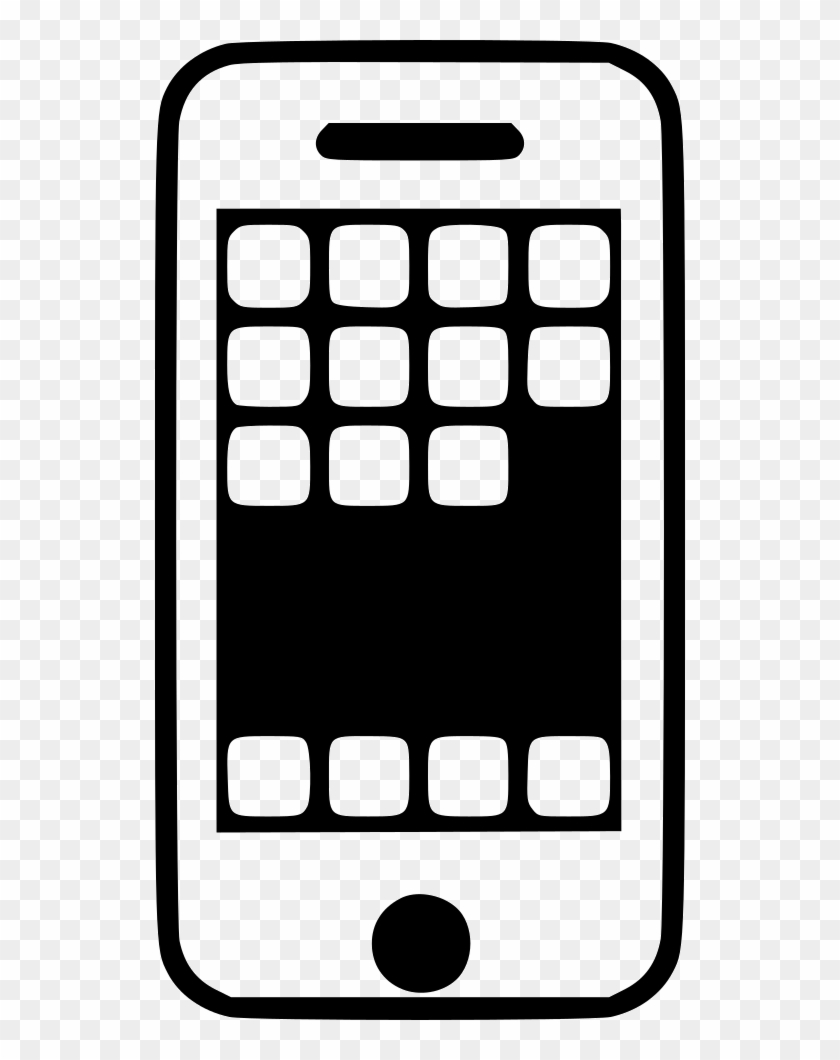 Android Mobile Phone Comments Clipart #123444