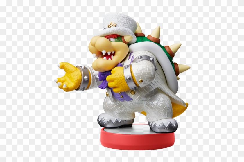 Amiibo Bowser Wedding Outfit Super Mario Odyssey