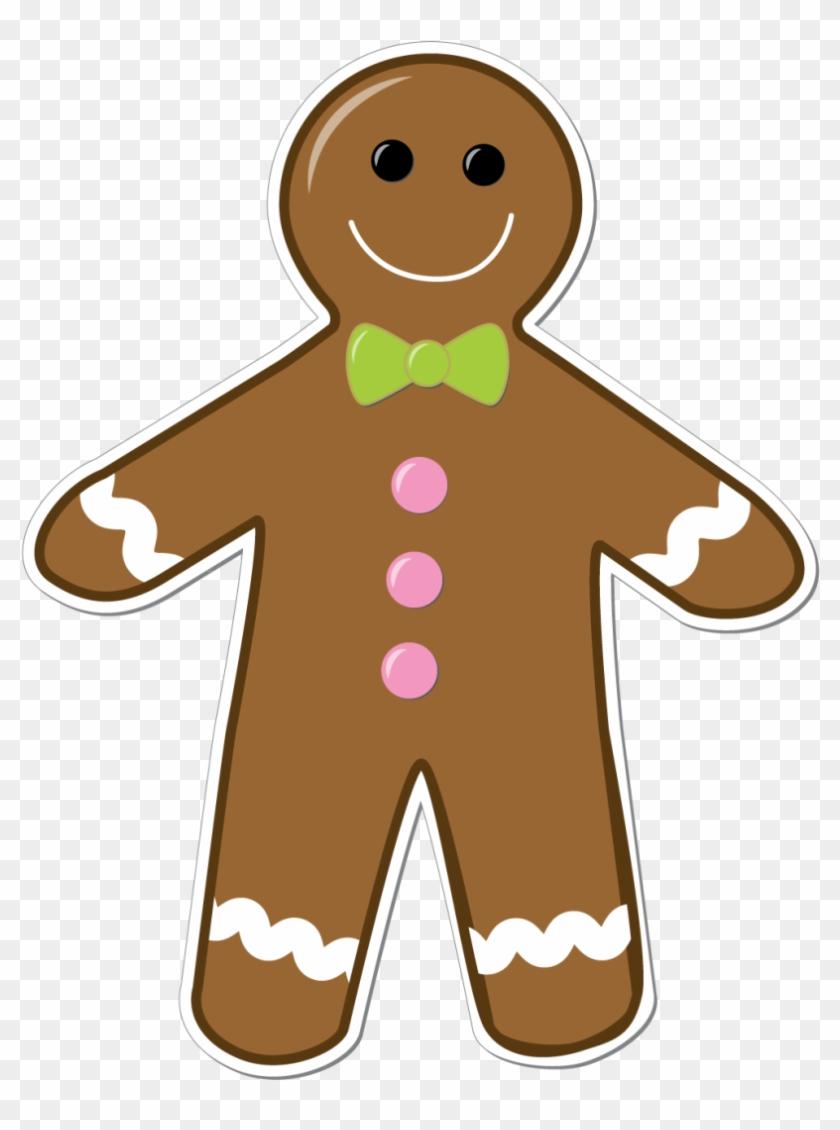 Ginger Bread Man Clipart Transparent Background - Gingerbread Man Transparent Background - Png Download@pikpng.com