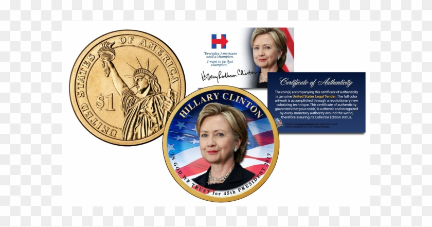 Hillary Clinton For 45th President Of The United States - Hillary Clinton 45th President Of The United States Clipart #127307