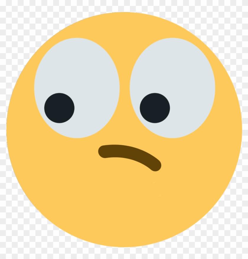 Thinking Eye Swithout Hand Discord Emoji - Discord Eyes Think Emoji Clipart #128123