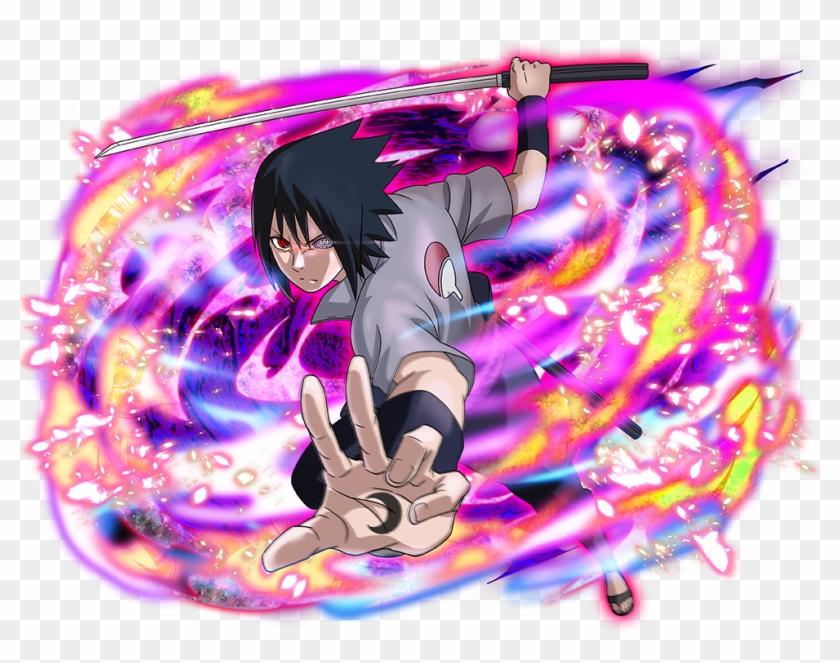 Sasuke Uchiha - Sasuke Seal Of Shadow Clipart #128506