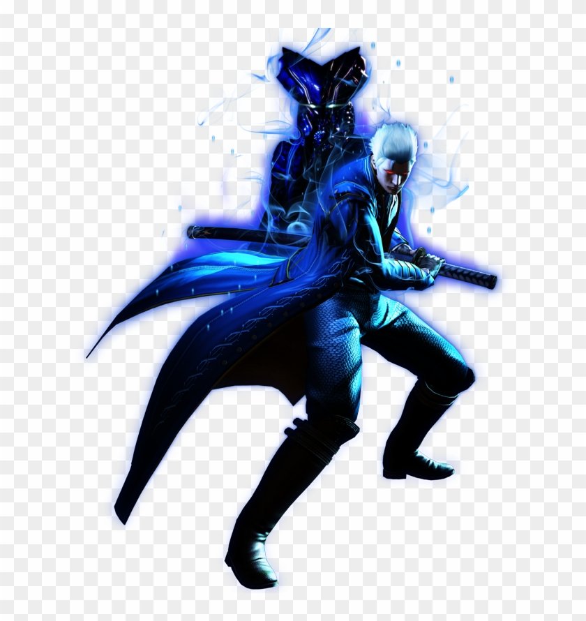Devil May Cry 4 Super Vergil Png Vergil Devil May Cry 4