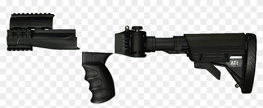 Ati A2101025 Strikeforce Ak 47 6 Position Stock Glass - Сгъваеми Приклад За Пушка, HD Png Download #1204455