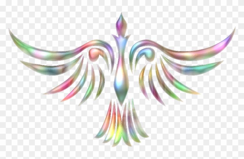 Phoenix Bird 1 Clipart Icon Png - White Phoenix Transparent Png #1209410