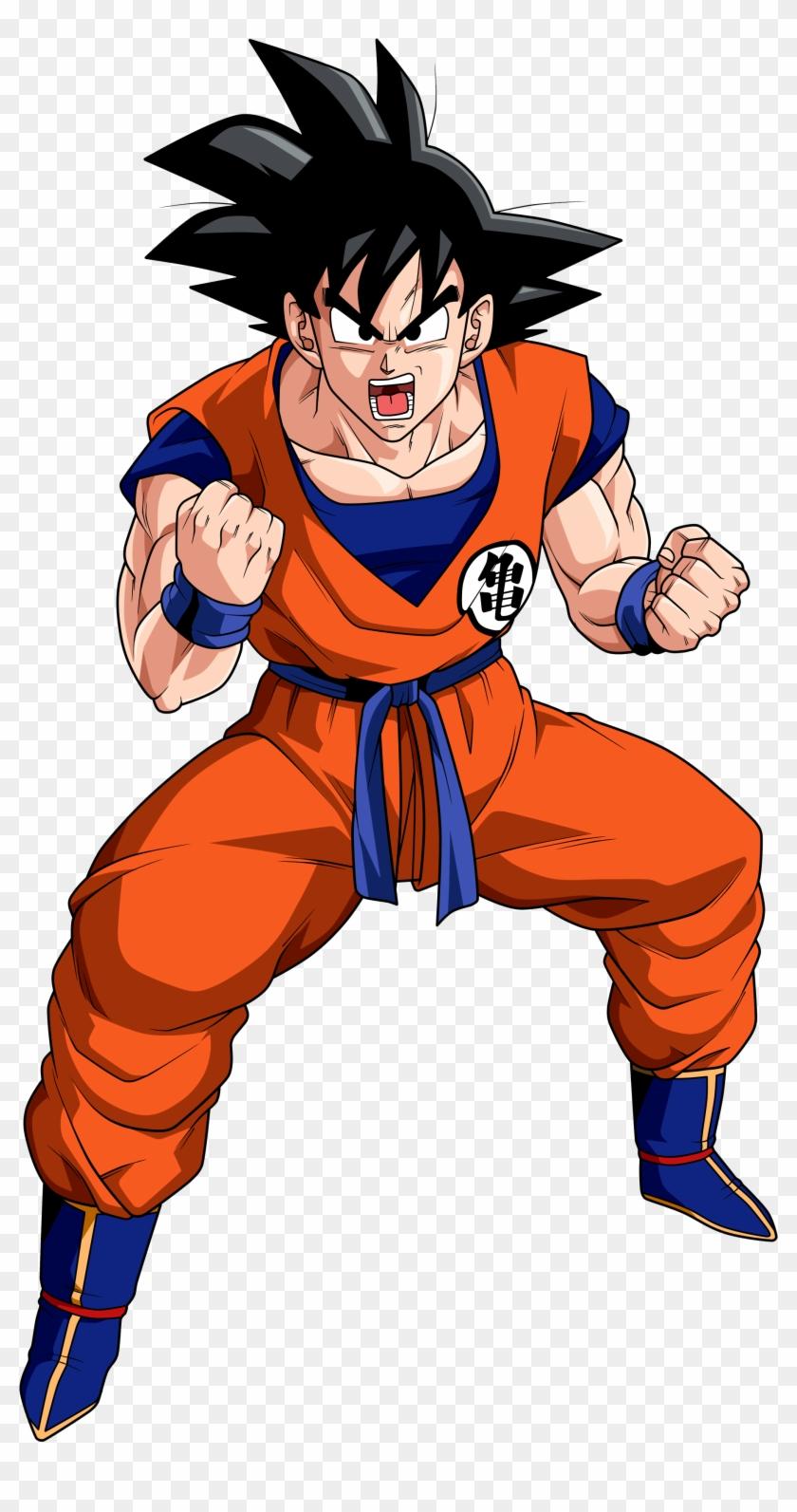 Dragon Ball Goku Png Free Download - Goku Dragon Ball Z Clipart #1211688