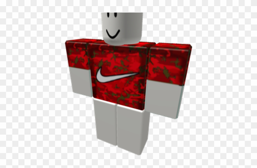 Nike Logo Clipart Roblox Roblox Red Nike Jacket Png Download