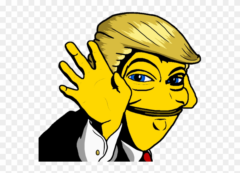 Rare Donald Trump Pepi - Pepe The Frog Clipart